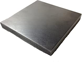 RMP Steel Bench Block, Flat Anvil Jewelers Tool, 4 Inch x 4 Inch x 1/2 Inch Thick