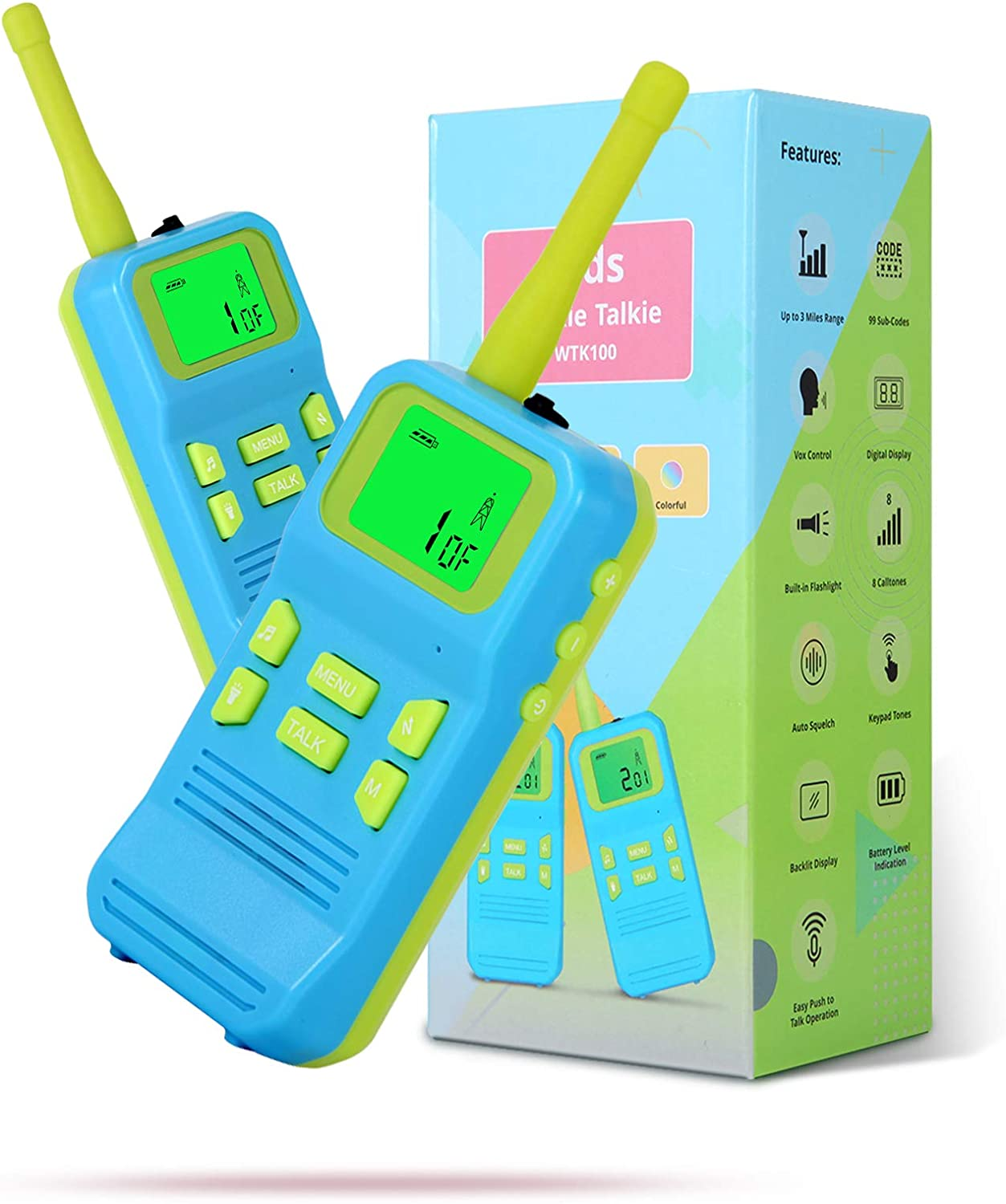 OMWay Kids Walkie Talkies Toys Austin Mall for Free Shipping Cheap Bargain Gift Chri Boys Year Old 3-10 Cool
