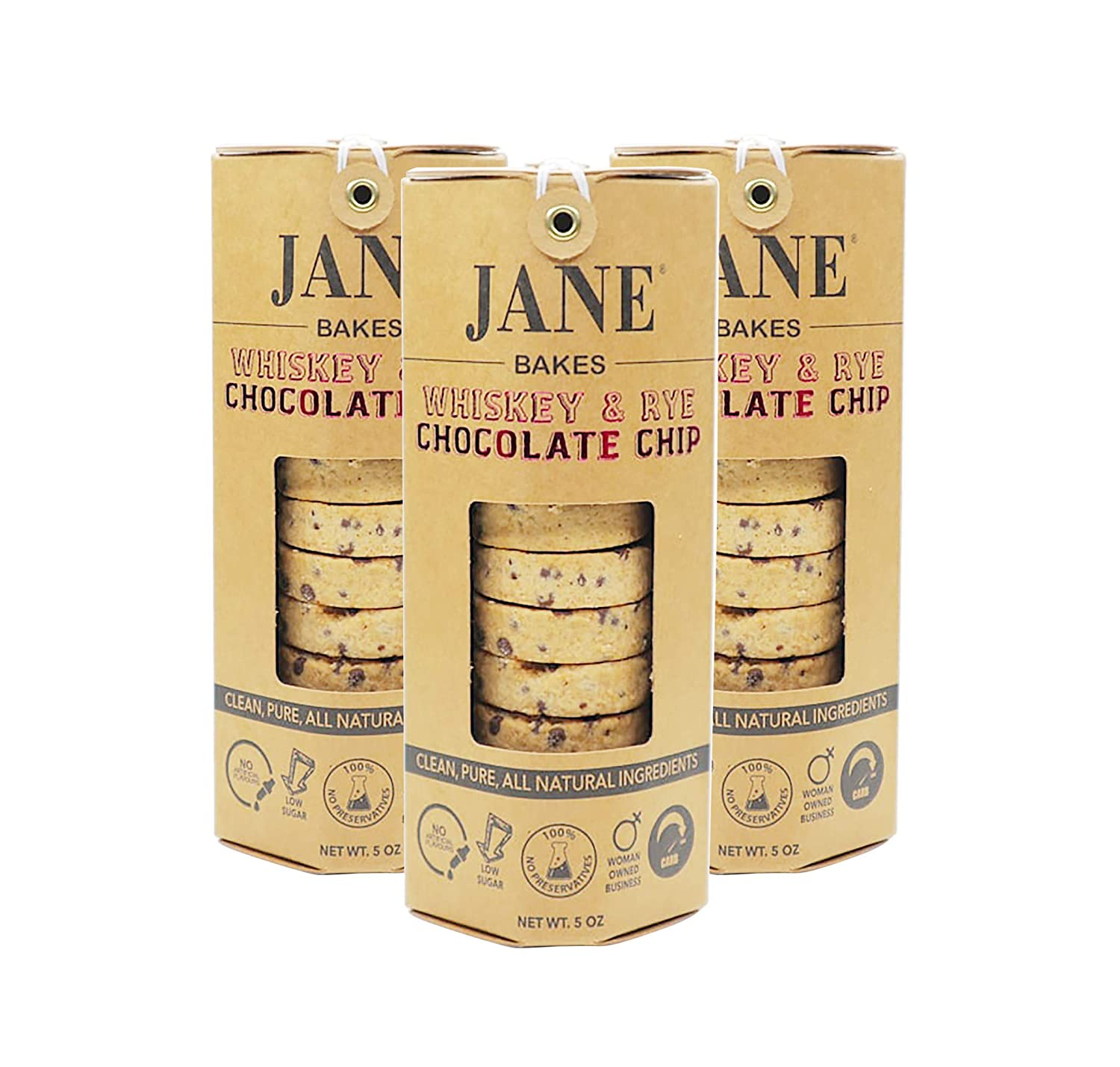 JANE BAKES 100% All Natural Whiskey - Chip Cookies Max 44% Max 87% OFF OFF Rye Chocolate
