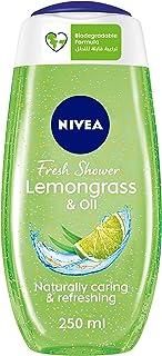 NIVEA Lemongrass & Oil Shower Gel, Caring Oil Pearls, Lemongrass Scent, 250ml