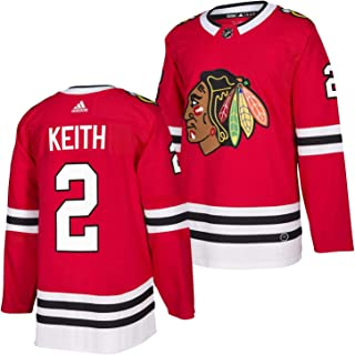 adidas Duncan Keith Chicago Blackhawks Authentic Home NHL Hockey Jersey