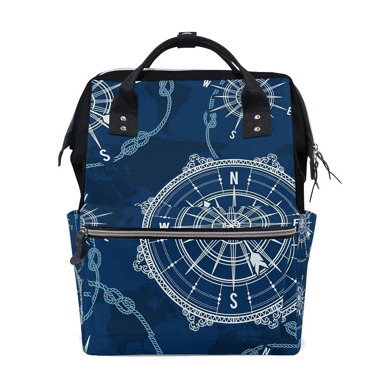 Blue Compass School Backpack Large Capacity Mummy Bags Laptop Handbag Casual Travel Rucksack Satchel For Women Men Adult Teen Children