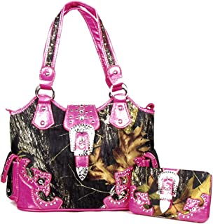 Best pink camo purse Reviews
