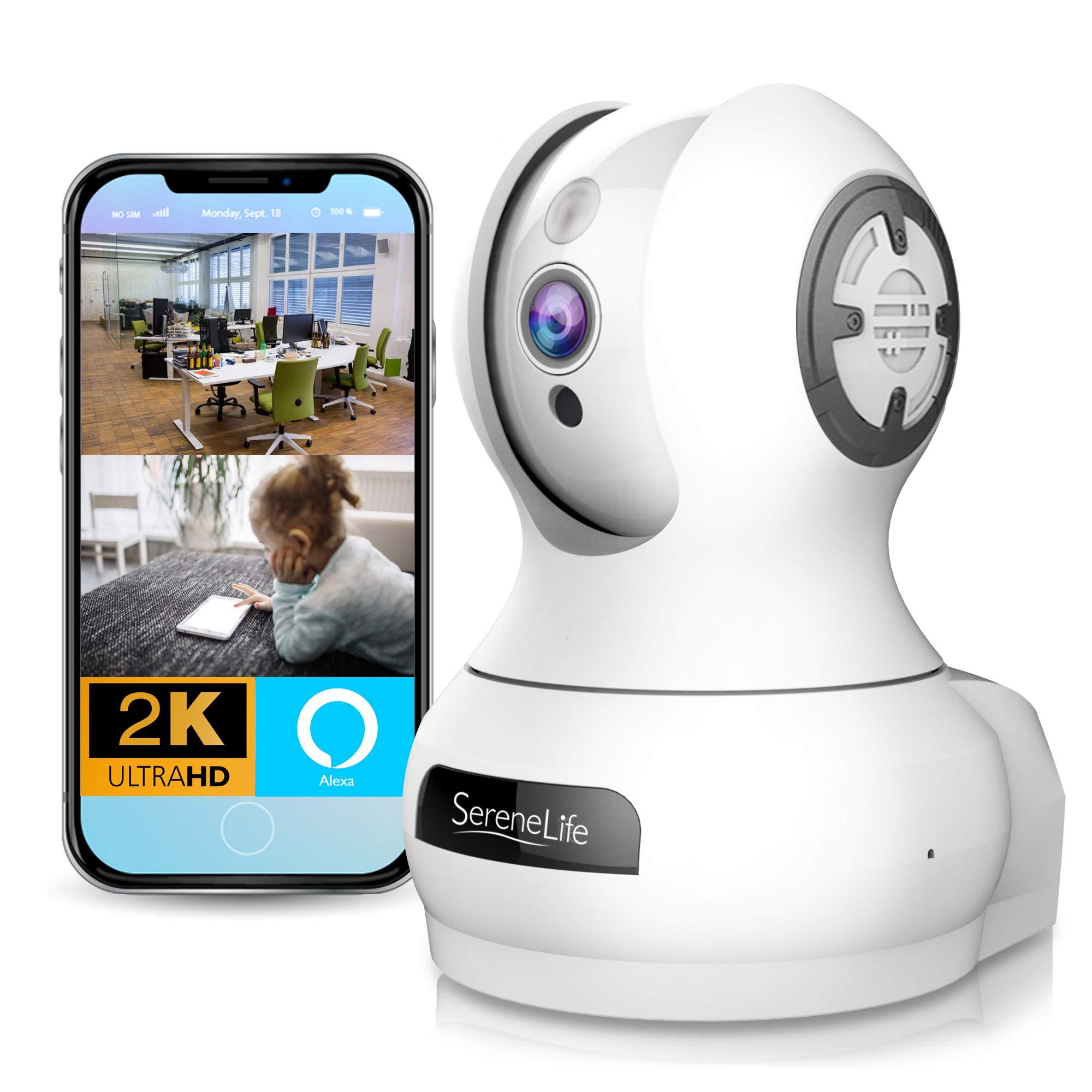 Alexa Compatible Indoor Camera Monitoring