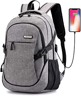 Ranvoo Laptop Backpack, Anti Theft Slim Durable Laptops Backpack with USB Charging Port,Water Resistant College School Com...