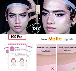 【New Matte Upgrade】 100PCS/Box Face Lifting Patch Invisible Artifact Sticker Lift Chin Thin Face Sticker Adhesive Tape Make-up Face Lift Tools