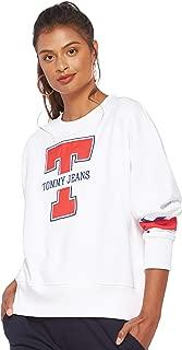 Tommy Hilfiger Women's DW0DW05116-White T-Shirts