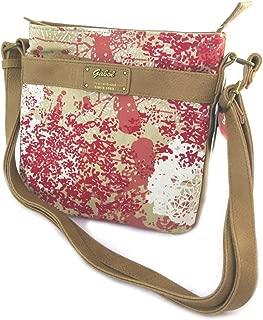 Shoulder bag 'Gabol'beige red.