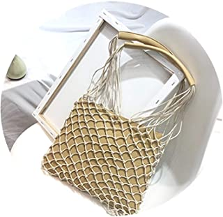 Casual Hollow Out Women Shoulder Bags Rattan Luxury Pu Leather Female Messenger Bag Rope