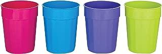 B & R Plastics Inc FC22-4-24 Cups 22 Oz Set of 4 Plastic, colors may vary