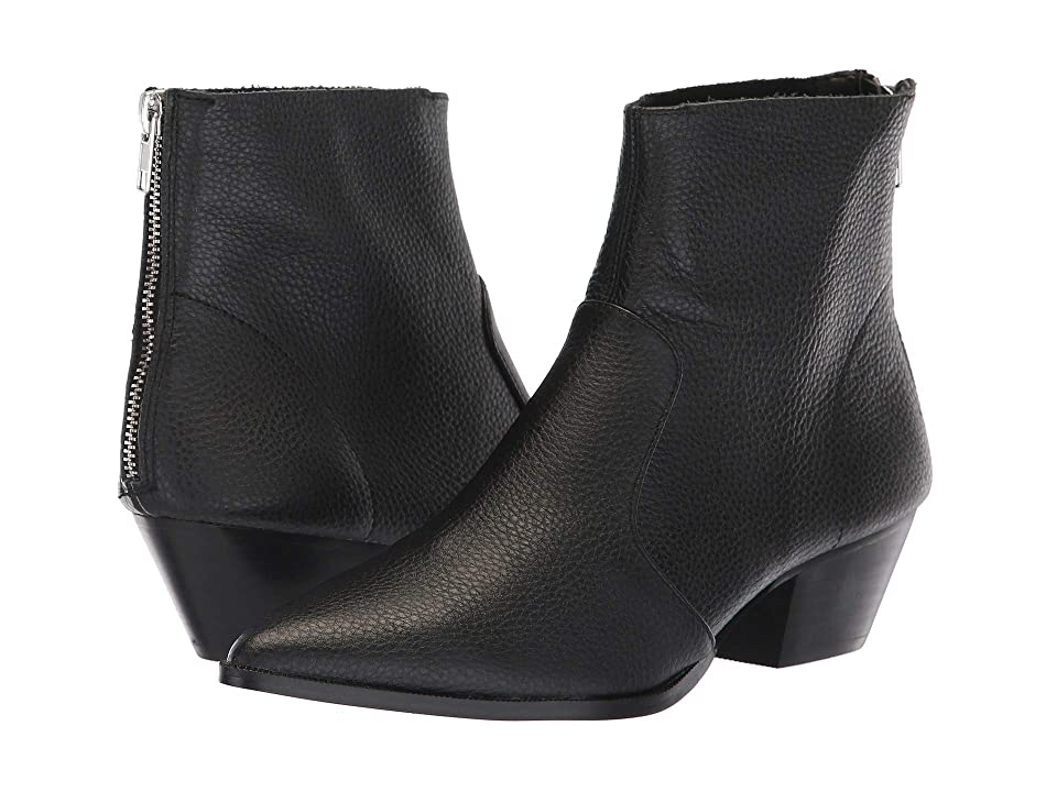 afae7a89734 Steve Madden Cafe Bootie (Black Leather) Women