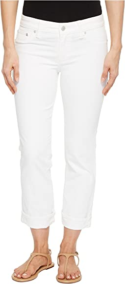 Sweet Crop Jeans in Clean White