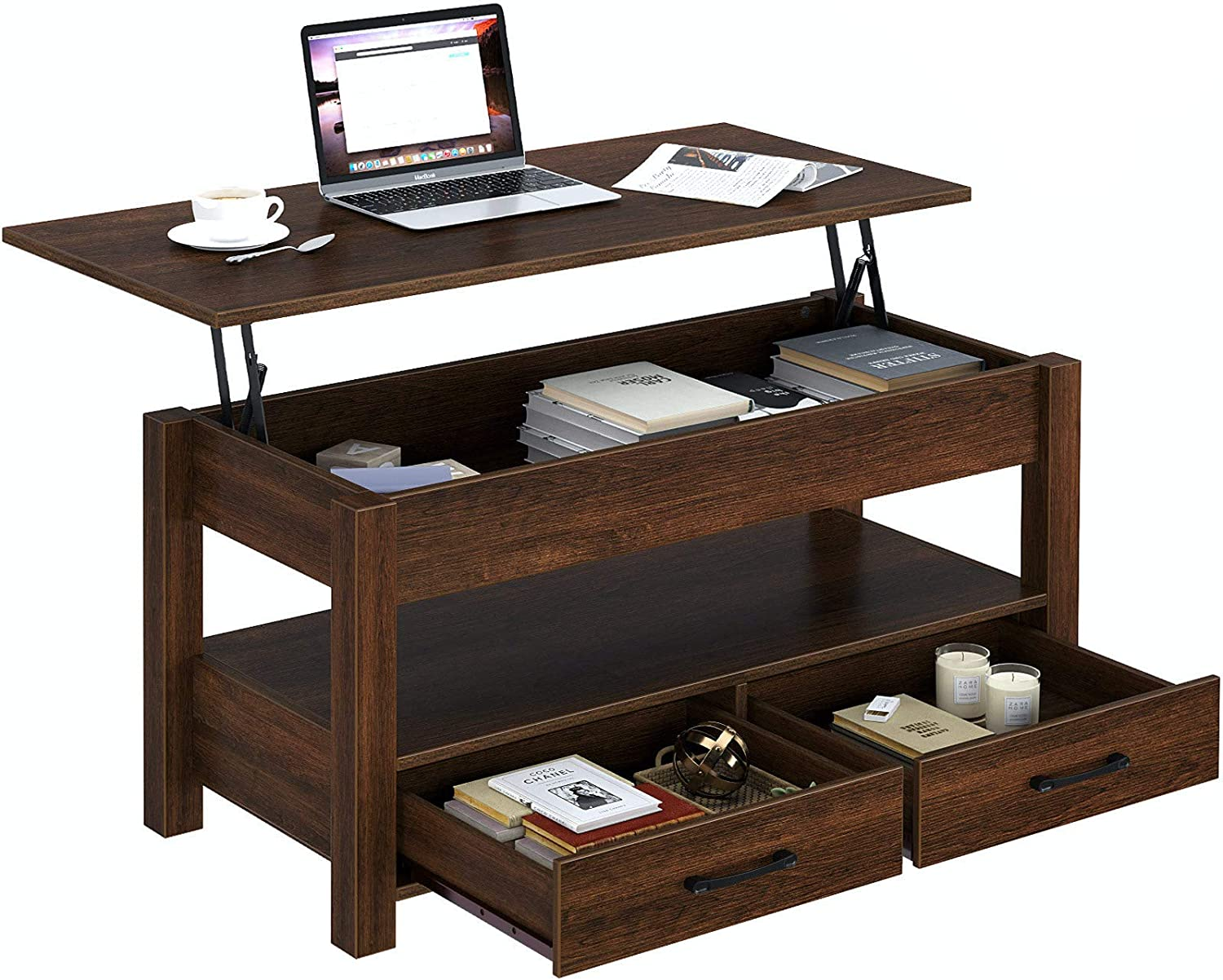Rolanstar Coffee New product!! Table Ranking TOP4 Lift Top with and H Drawers
