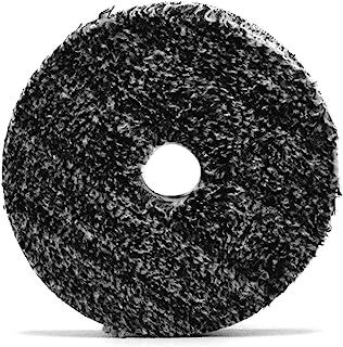 Almofada de fibra URO Buff and Shine para compor e polir - pacote com 5 polegadas 6