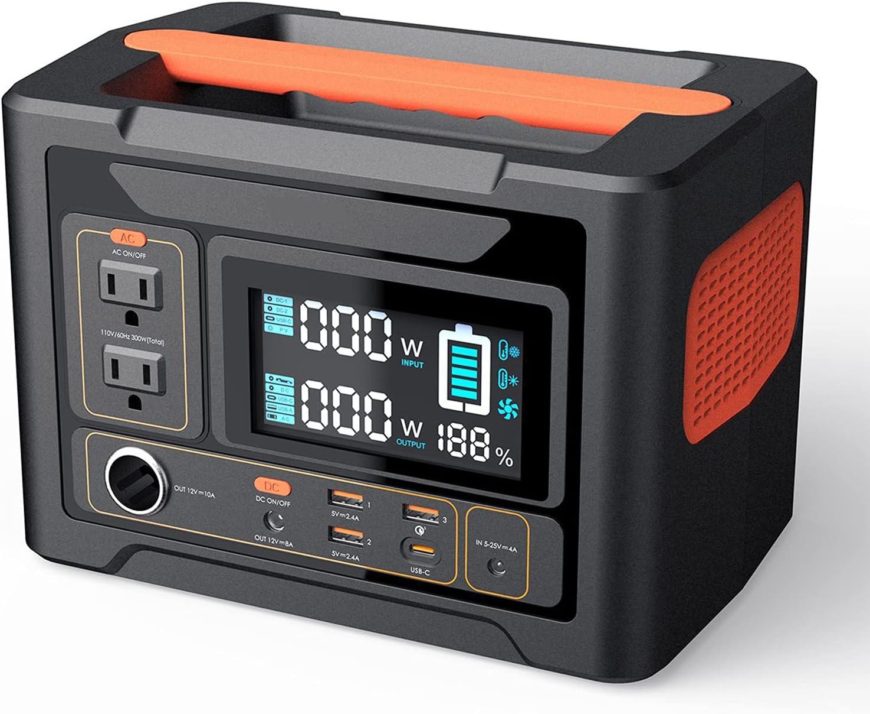 DSF PowerTitan 300  110V/300W Portable Power Station $155.99 Coupon
