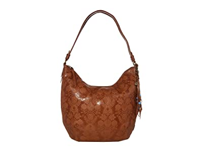 The Sak Sequoia Hobo (Tobacco Floral Embossed) Hobo Handbags