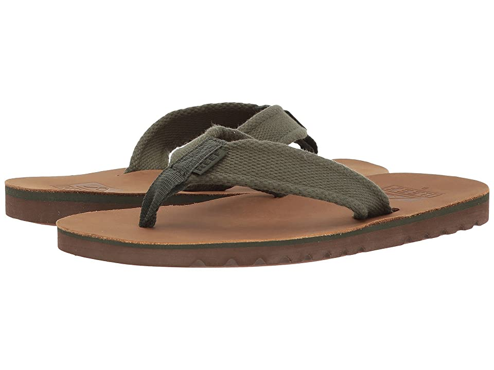 Reef Voyage TX (Brown/Olive) Men