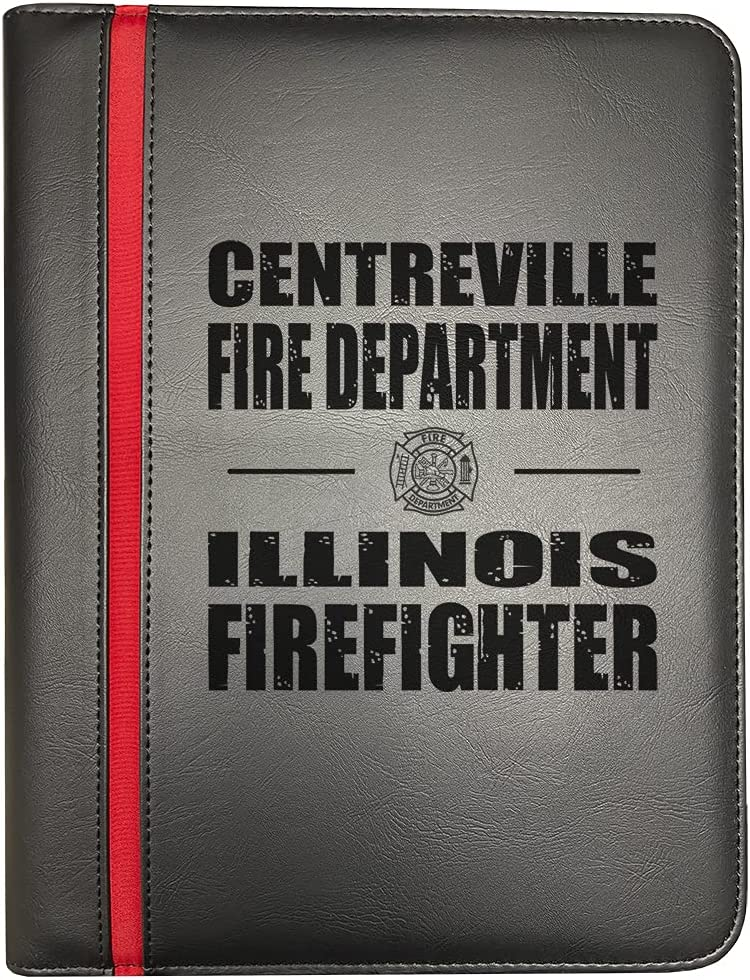 Centreville Illinois Fire Departments Challenge the lowest price of Japan Line Thin Firefighter Red High quality