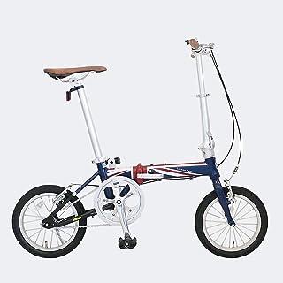 JEFFERYS(ジェフリーズ) 折りたた自転車 London Taxi ロンドンタクシー 14インチ FDB140 アルミ製 軽量 ユニオンジャック ネービー JP8733 小