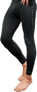 THE MOBILE SOCIETY leggings Uomo Intimo Sportivo Traspirante Senza Cuciture Seamless Made in Italy