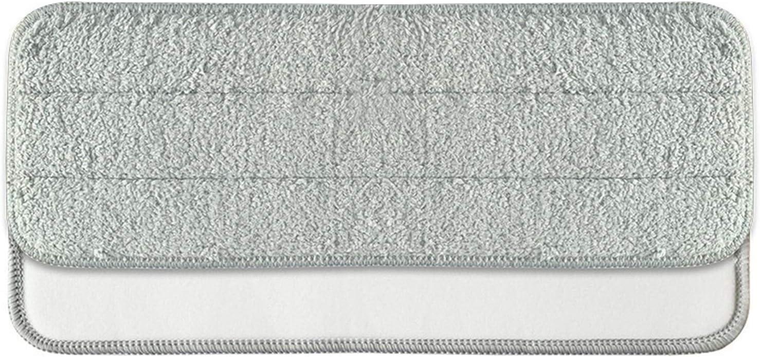 XUSUYUNCHUANG Fregona Paños Trapos for Xiaomi Mijia Deerma TB800 / TB500 el Chorro del Agua de la fregona giratoria 360 Limpieza del Cabezal de Tela de Fibra de Carbono Mopping