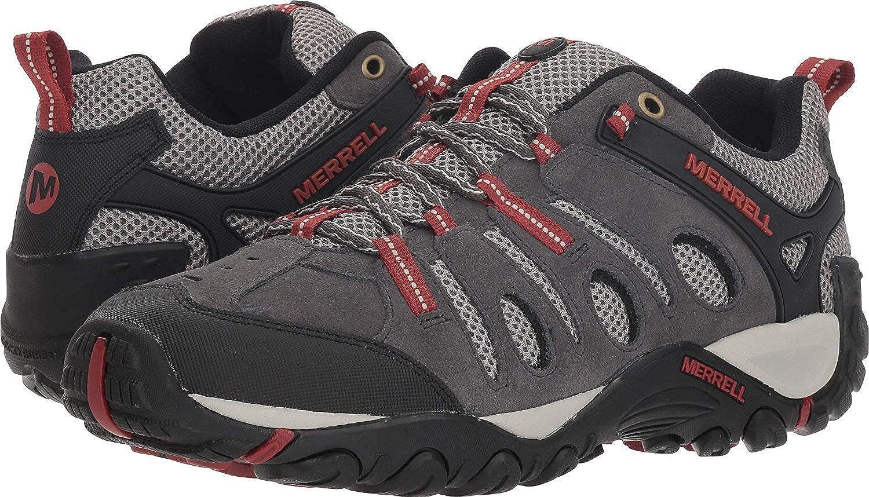 NEW Merrell Crosslander Vent Men Hiking Shoes Sizes 8.5-11 J343406C Granite Red