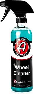Adam's Deep Wheel Cleaner 16oz - Tough on Brake Dust, Gentle On Wheels - Changes Color As It Works