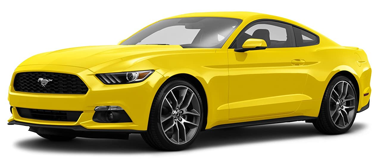 2015 Mustang Ecoboost >> 2015 Ford Mustang Ecoboost Premium 2 Door Fastback Triple Yellow Tri Coat