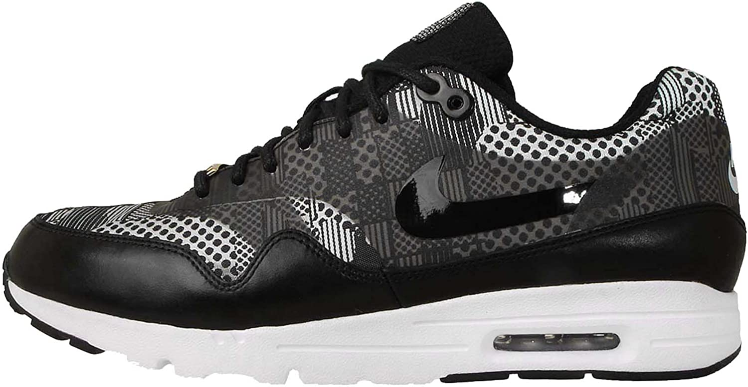 Nike Womens Air Max 1 Ultra BHM QS Printed Low Top Athletic shoes