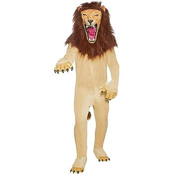 Smiffys Smiffys-34286M Disfraz de Feroz león de Circo Cirque ...