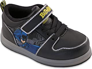 Favorite Characters Batman Boys Motion Lighted Athletic/Sneakers Toddler/Little Kid Black