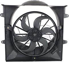 Dual Radiator and Condenser Fan Assembly - Cooling Direct Fit/For 52079528AB 02-07 Jeep Liberty 3.7L With Heavy-Duty Electric & 2 pin connector