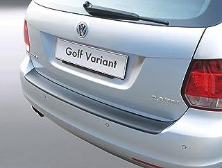 Aroba AR223 Ladekantenschutz kompatibel mit VW Golf Variant Kombi V BJ. 06.2007 05.2009 Stoßstangenschutz passgenau mit Abkantung ABS Farbe schwarz