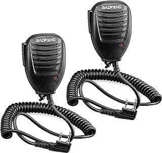 Walkie Talkie Handheld Speaker Mic, Shoulder Microphone for BaoFeng UV-5R 5RA 5RB 5RC 5RD 5RE 5REPLUS 3R+ Two Way Radio Ac...