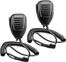 Best Walkie Talkie Handheld Speaker Mic, Shoulder Microphone for BaoFeng UV-5R 5RA 5RB 5RC 5RD 5RE 5REPLUS 3R+ Two Way Radio Accessories (2 Pack) Review