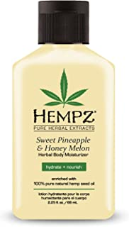 Sponsored Ad - Hempz Sweet Pineapple & Honey Melon Moisturizing Skin Lotion, Natural Hemp Seed Herbal Body Moisturizer wit...