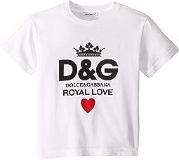 Royal Love T-Shirt (Toddler/Little Kids)