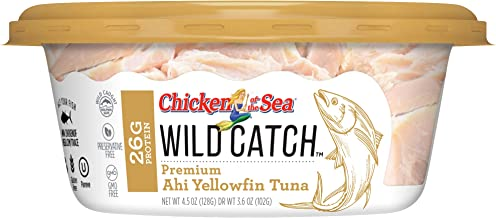 Chicken of the Sea Wild Catch, Alaskan Salmon, 4.5 Oz Cups (Pack Of 8)