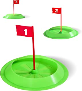 GoSports Pure Putt Challenge Putting Cups 3 Pack   Practice Putting Indoors & Outdoors