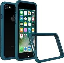 RhinoShield Ultra Protective Bumper Case [ iPhone 8/7 ] CrashGuard, Military Grade Drop Protection for Full Impact, Slim, Scratch Resistant, Dark Cyan