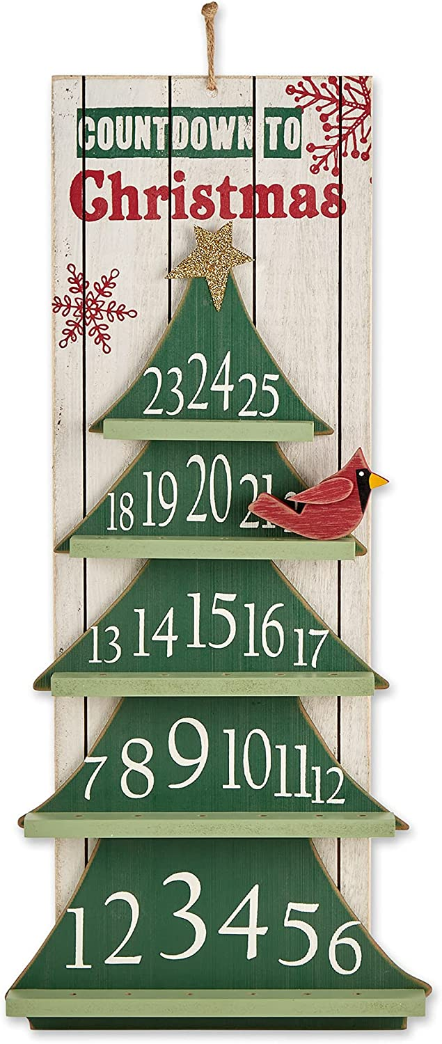 DII Holiday Wall SEAL limited product Décor Decorative 25x11.25 Christmas T Sale price Hanging