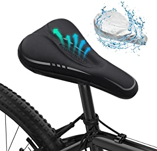 MLD Bike Seat Cover, Padded Comfortable Bike Seat Cushion...