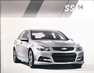 2014 Chevrolet SS 24-page Car Sales Brochure Catalog - Chevy Holden GM Commodore
