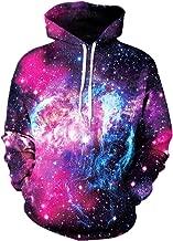 GLUDEAR Unisex Realistic 3D Digital Print Pullover Hoodie Hooded Sweatshirt