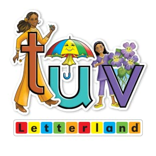 Letterland Stories: Talking Tess, Uppy Umbrella & Vicky Violet - FreeTime Unlimited Edition