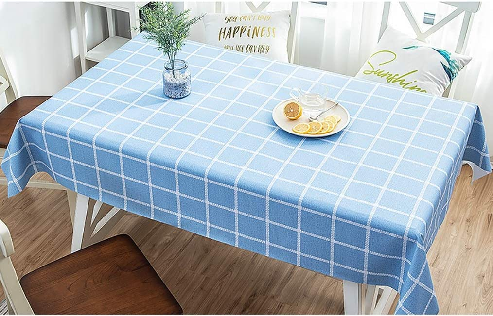NCHEOI Stylish Wipe Clean PVC Our shop OFFers the best service Product Rectang Tablecloth Sizes Various