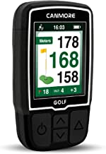 $99 » CANMORE Handheld Golf GPS HG200 - Water Resistant Full-Color 2-Inch Display with 38,000+ Essential Golf Course Data and Sc...