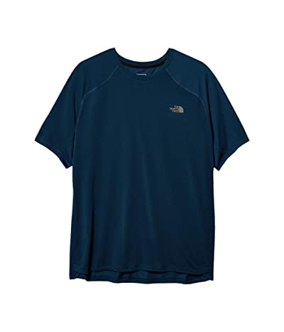The North Face Essential Short Sleeve (Blue Wing Teal) Men