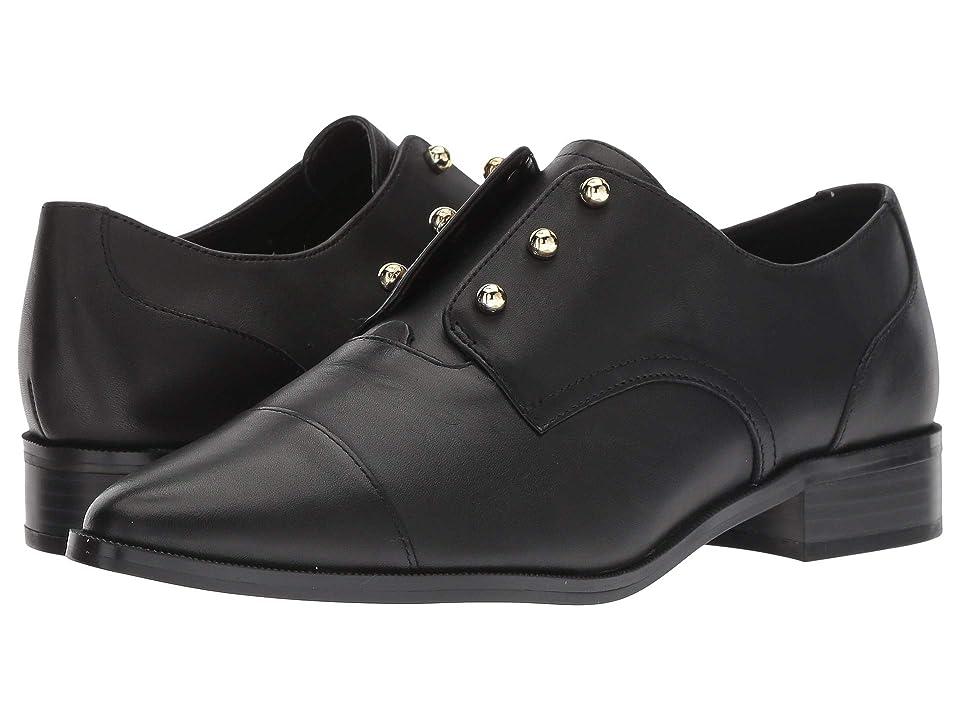 Nine West Wearable (Black Leather) Women