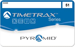 Pyramid TimeTrax 41304 Swipe Cards (51-100) for TTEZ, TTEZEK, PSDLAUBKK, TTPRO, TTMOBILE, FASTTIME 8000 & 9000 Time Clock Systems, 50/Pk